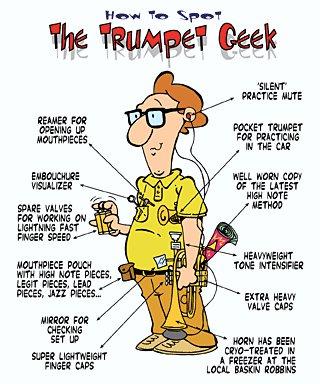 trumpet geek