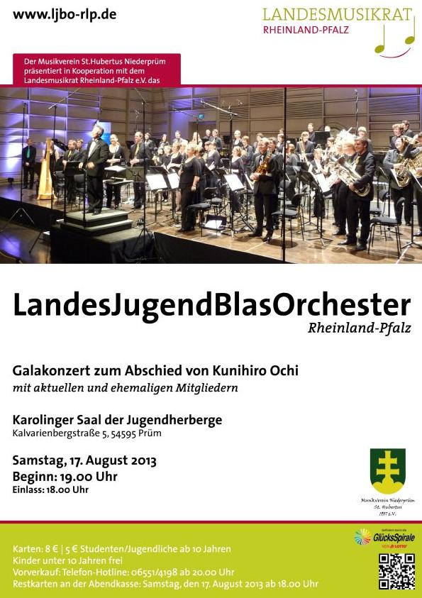 JBO RLP, Konzert, Plakat